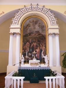 A penci evangélikus templom főoltára