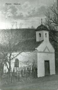 A penci kápolna régen